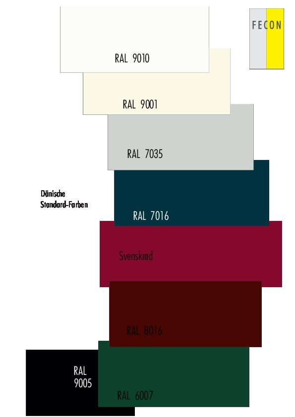 3Daenische Standardfarben