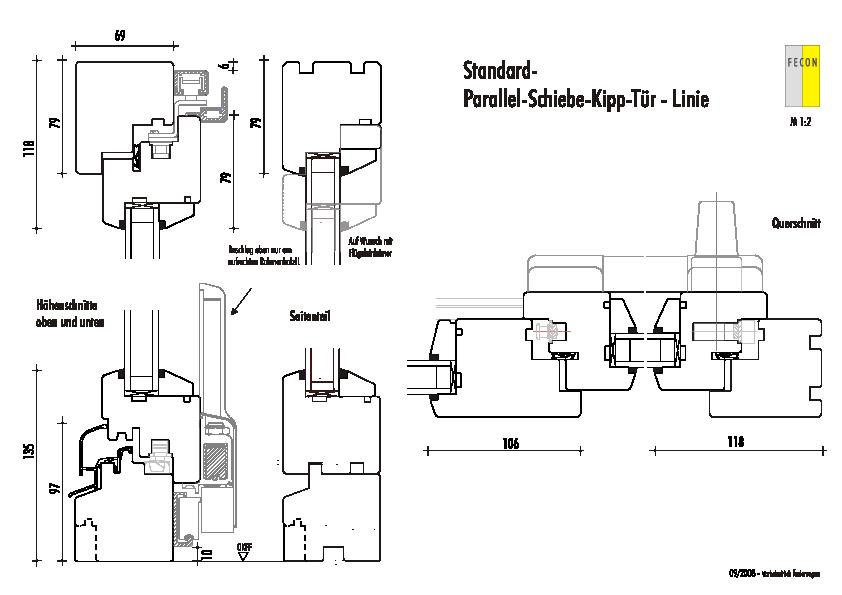 Standard PSK-Tuer - Linie